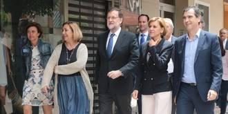 """Rajoy en Guadalajara: """"No se pueden tirar los esfuerzos de los españoles por la ventana"""""""