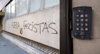 Atacan la sede de Intereconomía y pintan: