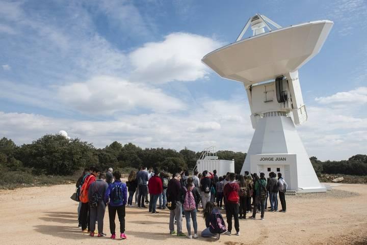 El Aula Municipal de Astronomía de Yebes bate todos los records en la cuarta temporada con 6.566 visitas