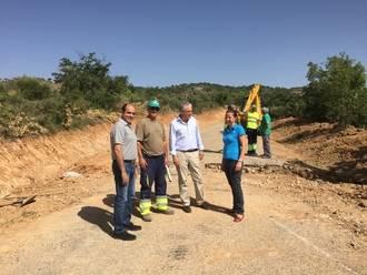 La Diputación mejora las carreteras de Budia y de Pareja a Escamilla