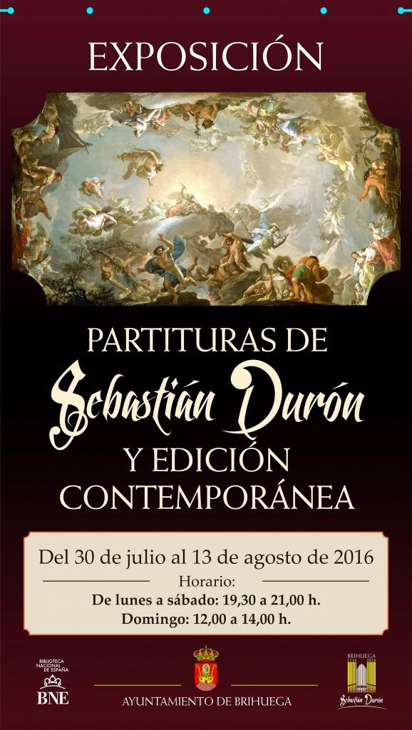 Las partituras de Sebastián Durón visitan Brihuega