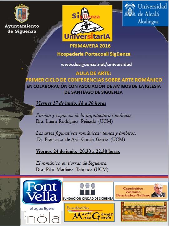 Este viernes se inicia el Primer Ciclo de Conferencias Sobre Arte Románico en Sigüenza