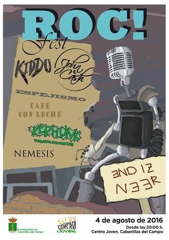 """Nace el """"Roc! Fest"""", festival de grupos locales que se celebrará el 4 de agosto en el Centro Joven de Cabanillas"""