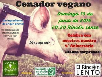 El cenador vegano de Guadalajara cumple su cuarto aniversario