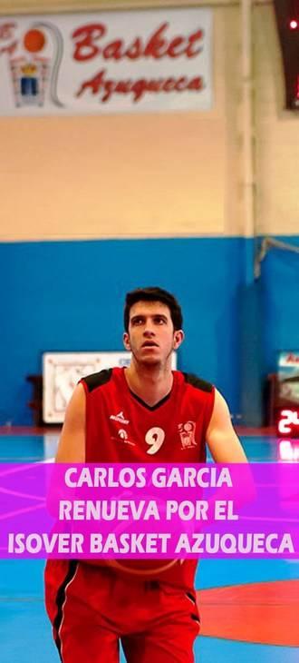 Otro que se queda una temporada más en el Isover Basket Azuqueca: Charly
