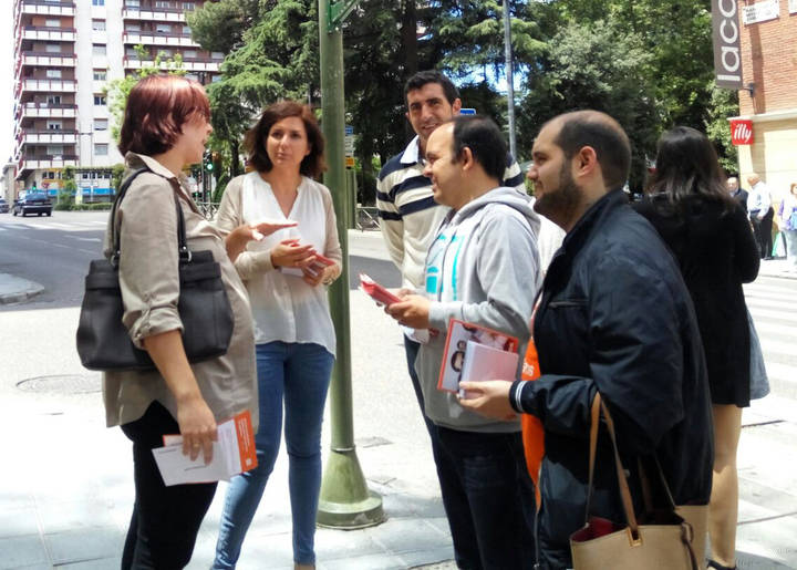 Orlena de Miguel pide el voto a los guadalajareños para lograr un 'cambio a mejor'