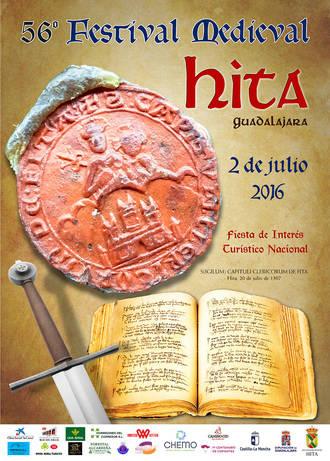 El Festival Medieval de Hita celebra el 2 de julio su 56º edición