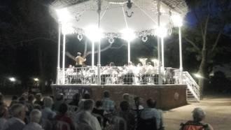 La Banda Provincial ofreció sendos conciertos en Mondéjar y Guadalajara