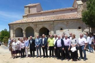 La Diputación restaura la iglesia de la pedanía de Castilblanco de Henares
