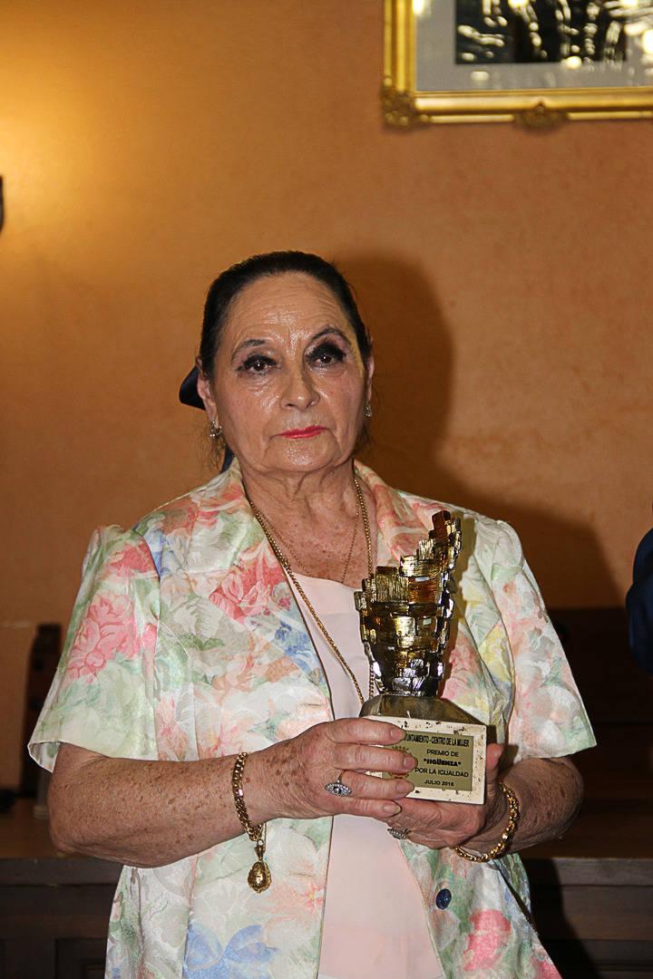 La empresaria Dolores Moreno, Mención de la Igualdad de la ciudad de Sigüenza 2016