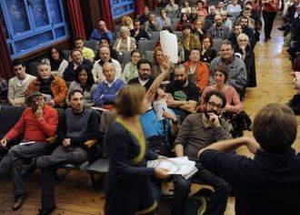 Las aguas bajan más que revueltas en los Círculos de Podemos: