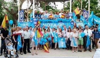 """Ana Guarinos y Silvia Valmaña llaman a concentrar todo el voto de las personas moderadas en el PP """"por el bien de España"""""""