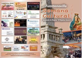 Este lunes comienza la semana cultural de Fuentenovilla