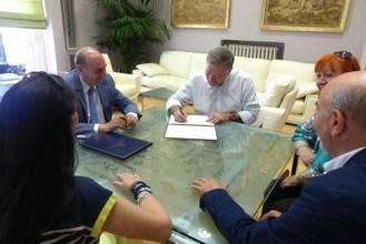 La Diputación colabora con la Fundación Siglo Futuro para la difusión de la cultura en nuestra provincia