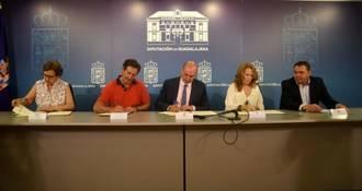 La Diputación aporta 50.000 euros para ayudas sociales a Proyecto Hombre, Banco de Alimentos y AFAUS