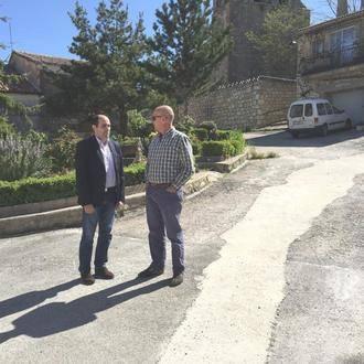 La Diputación invierte más de 100.000 euros en pavimentación y arreglo de redes en Estriégana, Trijueque y Horche