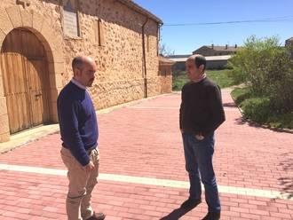 La Diputación lleva a cabo obras de pavimentación y renovación de redes en la zona de Molina