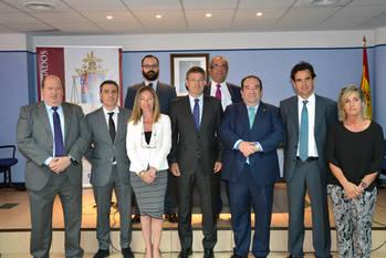 El ministro de Justicia en funciones se reúne con el Colegio de Abogados de Guadalajara