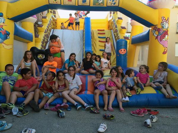 Los escolares de Yebra celebran el fin de curso escolar con numerosas actividades