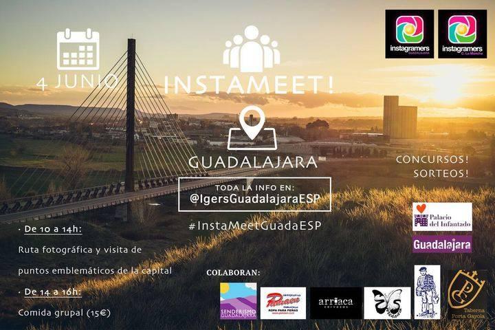 #InstameetGuadaEsp, instragramers sueltos por Guadalajara el próximo 4 de junio