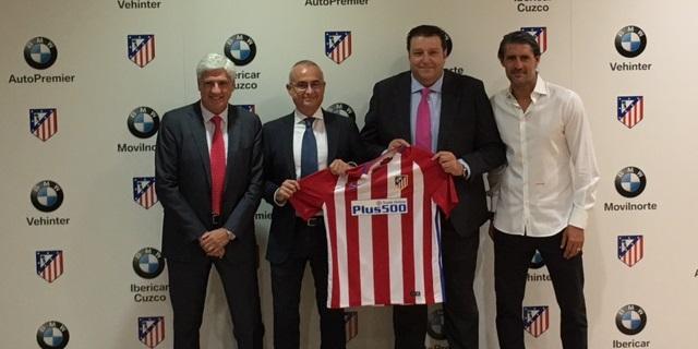 El concesionario de Guadalajara BMW AutoPremier se convierte en patrocinador oficial del Atlético de Madrid