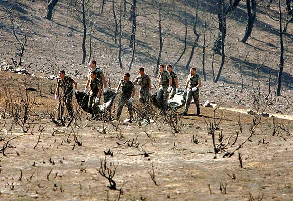 Bomberos y Agentes forestales recuerdan este domingo a los 11 fallecidos en el incendio de Riba de Saelices