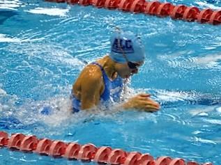La alcarreña Inés Sancho, subcampeona de España alevín de natación