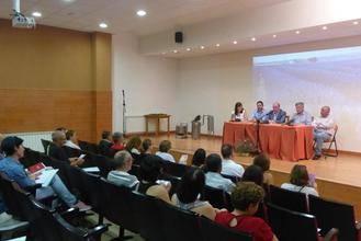 Más de 50 personas participan en la jornada sobre plantas aromáticas organizada por la Diputación