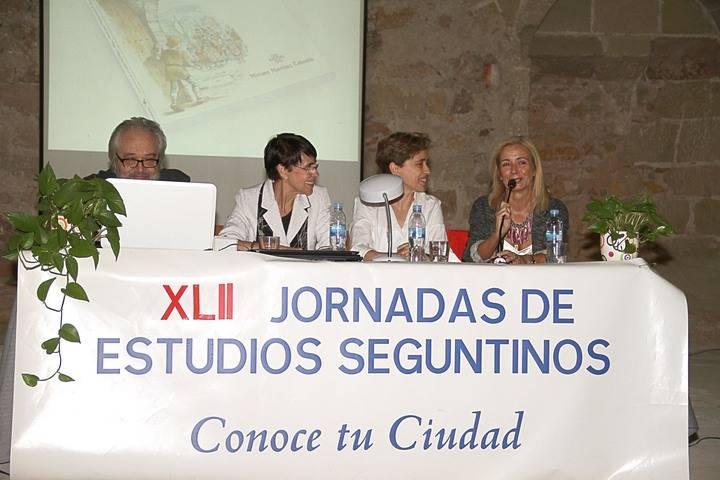 La presentación del libro 'El misterio de la llave de oro' da comienzo a las XLII Jornadas de Estudios Seguntinos
