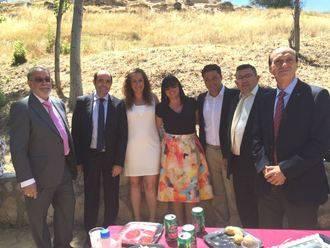 El vicepresidente tercero de la Diputación asiste a las fiestas de Loranca de Tajuña