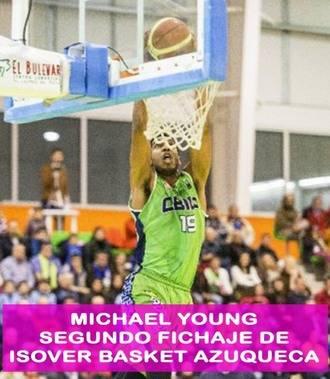 Michael Young, segundo fichaje del Isover Basket Azuqueca