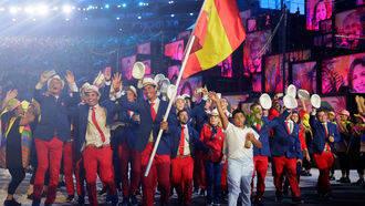 Rafael Nadal, la auténtica estrella en inauguración de los Juegos de Río