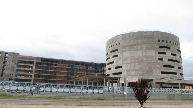 """El PP denuncia """"las maniobras de Page para ocultar el parón en las obras del nuevo Hospital de Toledo"""""""