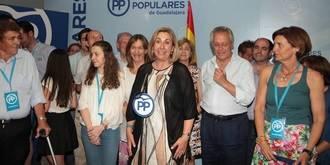 El PP gana la elecciones en Guadalajara y consigue de nuevo dos diputados para representar a la provincia en el Congreso