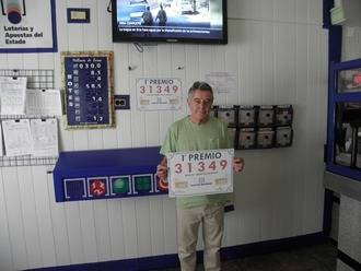 El primer premio de la Lotería Nacional, el 31.349, cae en Albalate de Zorita