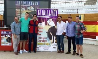8 recortadores de Guadalajara contra 8 del resto de España en un duelo Alcarria Vs España en el Coso de Las Cruces de la capital