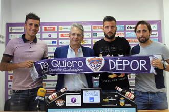 """Luis Martínez de Quel, Yelco Ramos y Jorge González """"Pesca"""" ya ejercen de deportivistas"""