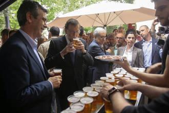 Mariano Rajoy visitará este lunes la fábrica de Mahou de Alovera
