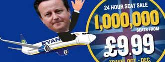 Ryanair pone a la venta1 millón de billetes a 10 libras por el Brexit