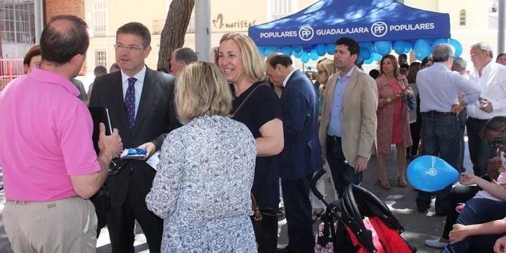 """Rafael Catalá en Guadalajara: """"El PP ha acreditado que sabe resolver los problemas de los españoles y por eso pedimos su apoyo"""""""