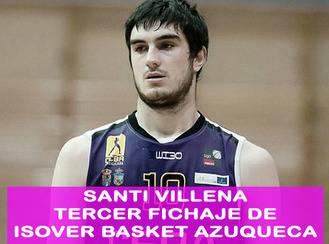 El escolta Santi Villena, tercer fichaje del Isover Basket Azuqueca