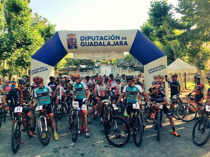Más de 200 participantes en la II Ruta MTB Senderos del Cid celebrada en Jadraque