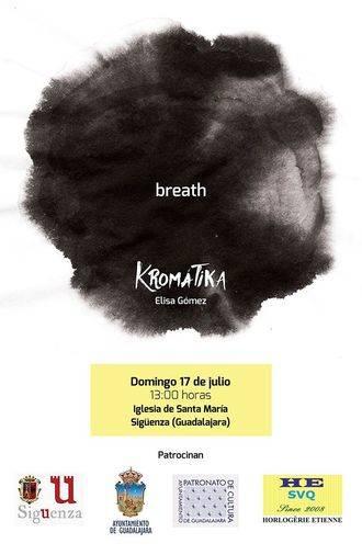 El Grupo Vocal Kromátika presenta este domingo en Sigüenza su primer trabajo discográfico, 'breath'