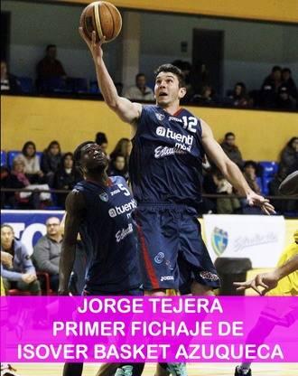 Jorge Tejera, primer fichaje de la temporada del Isover Basket Azuqueca