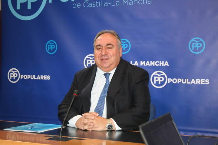 """Tirado celebra que la victoria del PP servirá """"para seguir trabajando al servicio de los intereses de los castellano-manchegos"""""""