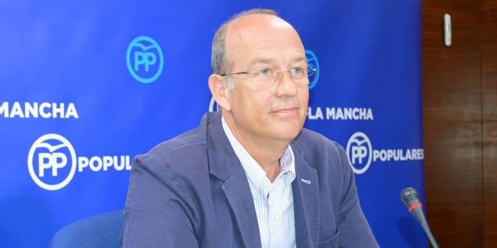 """El PP afirma que """"hoy Castilla-La Mancha está en números rojos"""""""