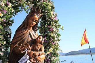 Entrepeñas honra a la Virgen del Carmen
