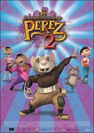 Cine infantil en el Teatro Moderno con 'Pérez, el ratoncito de tus sueños 2'
