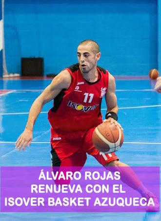 Álvaro Rojas seguirá siendo el capitán del Isover Basket Azuqueca al menos un año más