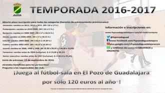 El FS Pozo de Guadalajara busca nuevos jugadores